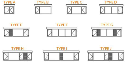 dakkapel-types