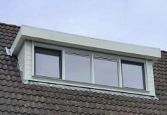 dakkapel plat dak 350cm voorkant